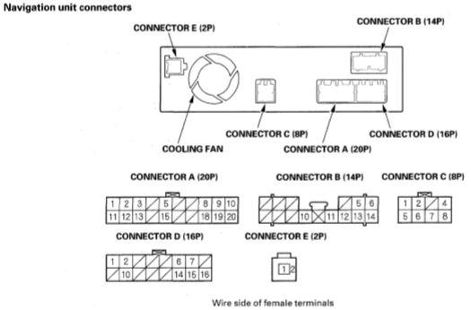 Wiring Schematic 2004 Navigation Drive
